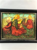 Lot 25-AN OIL ON BOARD