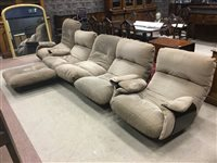 Lot 1602-A LIGNE ROSET MODERNIST FOUR PIECE SUITE