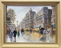 Lot 415-KNIGHTSBRIDGE, AN OIL BY ROLAND DAVIES