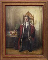 Lot 422-PORTRAIT OF ROBERT ANDERSON, BARON BAILIE OF CANONGATE AND CALTON, AN OIL BY JOHN MYLES