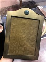 Lot 1616-A BRASS PHOTOGRAPH FRAME AND OTHER ITEMS