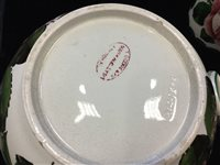 Lot 1250-A WEMYSS WARE PRESERVE JAR AND COVER