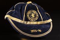 Lot 1972 - SCOTTISH FOOTBALL ASSOCIATION INTERNATIONAL CAP 1976