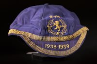 Lot 1973 - SCOTLAND V. WALES INTERNATIONAL CAP 1938-1939
