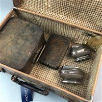 Lot 30-A NO 210 PRIMUS STOVE, A WWI MILITARY CHRISTMAS BOX AND TWO TABLE LIGHTERS