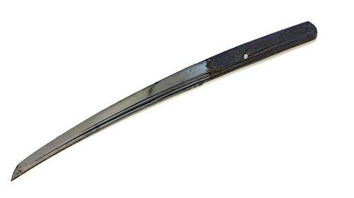 Lot 1164 - A JAPANESE WAKIZASHI