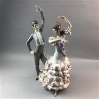 Lot 27-A LARGE LLADRO GROUP OF FLAMENCO DANCERS