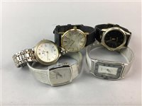 Lot 6-A LOT OF SEVEN GENTS WRIST WATCHES