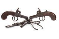 Lot 1630-A LOT OF TWO PISTOLS AND RELEVANT ACCESSORIES