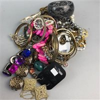 Lot 16-A LOT OF COSTUME JEWELLERY