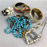 Lot 17-A LOT OF COSTUME JEWELLERY