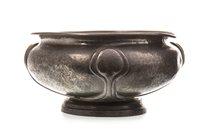 Lot 1632-A LIBERTY & Co. HAMMERED PEWTER CIRCULAR FRUIT BOWL