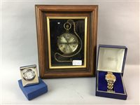 Lot 11-A LOT OF DRESS POCKET WATCHES, A TIMEPIECE, CUFFLINKS AND COLLECTABLES