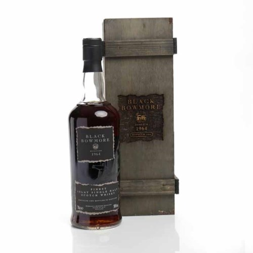 Lot 500-BLACK BOWMORE 1964 2nd EDITION Islay Single Malt...