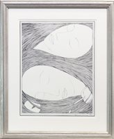 Lot 566 - DREAM, A LITHOGRAPH BY HANNAH FRANK