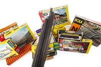 Lot 1639-A COLLECTION OF HORNBY MINITRIX AND OTHER MODEL TRAINS AND ACCESSORIES
