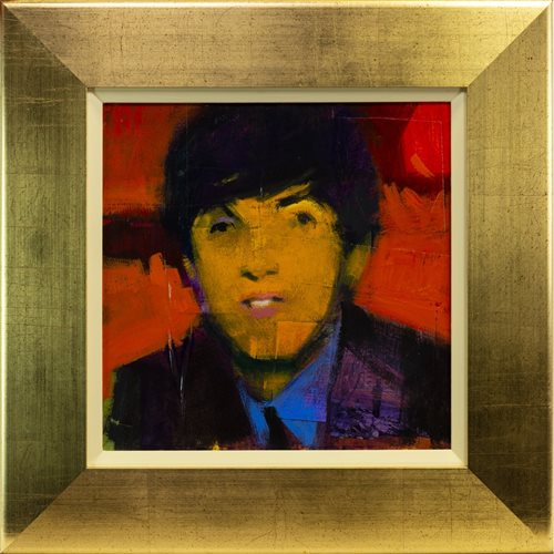 Lot 560-PAUL MCCARTNEY, AN OIL BY FRANCIS BOAG