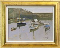 Lot 533-MOUSEHOLE, AN OIL BY KEN HOWARD