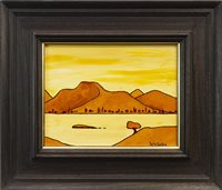 Lot 626-AUTUMN BY BEN LOMOND, AN OIL BY IAIN CARBY
