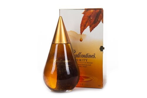 Lot 182-BALANTINES PURITY 20 YEARS OLD