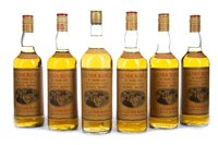 Lot 32-SIX BOTTLES OF GLENMORANGIE 10 YEARS OLD 26 2/3 FL.OZ