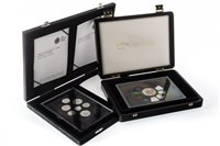 Lot 671-TWO PROOF COIN SETS