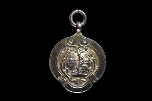 Lot 1903 - TWO EARLY 20TH CENTURY INVERURIE LOCO F.C. GOLD MEDALS