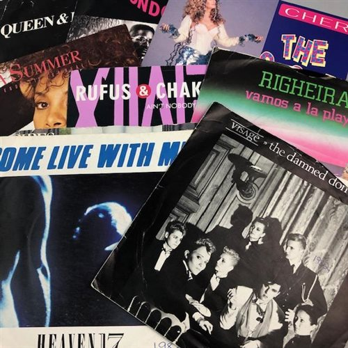 Lot 29-A COLLECTION OF VINYL RECORDS