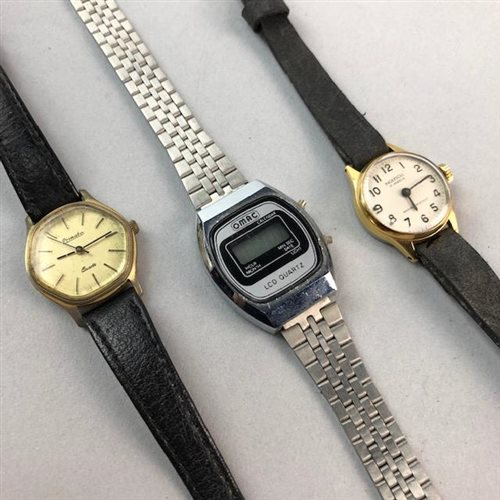 Lot 14-A GROUP OF LADY'S WRIST WATCHES