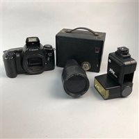 Lot 63-A GROUP OF CAMERAS AND LENSES