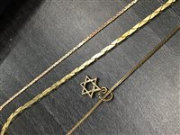 Image for A STAR OF DAVID MOTIF PENDANT