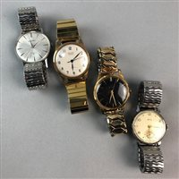 Lot 38-A GENTLEMAN'S SMITHS WRIST WATCH AND OTHER WATCHES