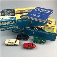Lot 67-A LOT OF MINIC MODEL VEHICLES AND ACCESSORIES