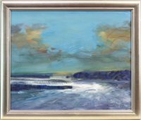Lot 687 - CORRYVRECKAN, AN OIL BY BRIAN CHAMBERS