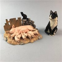 Lot 71-A BORDER FINE ARTS FIGURE GROUP AND ANOTHER