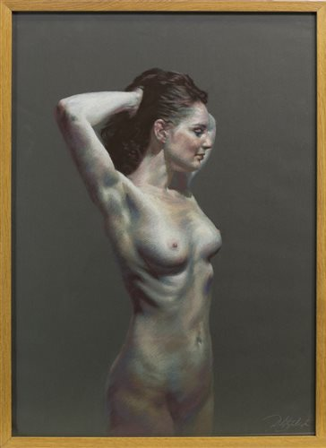Lot 679 - KELLY, A PASTEL BY DANNY FITZPATRICK