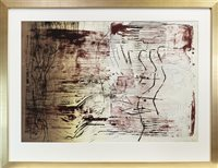 Lot 706 - ABSTRACT, A LIMITED EDITION PRINT BY JO GANTER