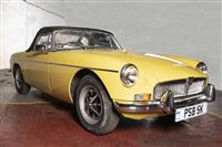 Lot 2-AN ATTRACTIVE 1972 MGB ROADSTER, MOTOR CAR