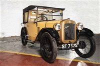 "Lot 4-AN OUTSTANDING ""BRUM"" - A VINTAGE AUSTIN 7 CHUMMY TOURER MOTOR CAR"