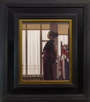 Lot 714-FUTURE WORLD, AN OIL BY JACK VETTRIANO