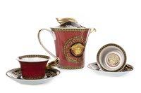 Lot 1270 - A ROSENTHAL VERSACE MEDUSA IKARUS TEA POT