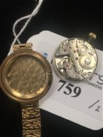 Lot 759-TWO LADY'S WRIST WATCHES