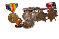 Lot 1652-A COLLECTION OF MEDALS INCLUDING THE EGYPT MEDAL AND THE KHEDIVE'S STAR MEDAL 1882