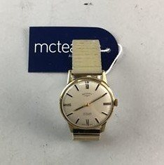 Lot 7-A GENTLEMANS ROTARY WRIST WATCH AND OTHER WATCHES