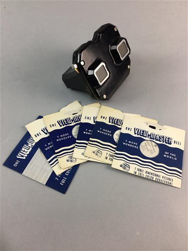 Lot 47-A VINTAGE SAWYERS VIEWMASTER AND SLIDES