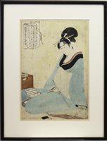 Lot 997-A JAPANESE WOODBLOCK PRINT