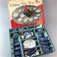 Lot 55-A CHILD'S CHINA TEA SERVICE