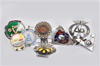 Lot 20-COLLECTION OF VEHICLE BADGES