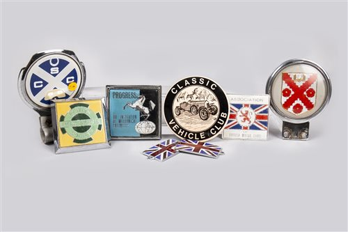 Lot 22-COLLECTION OF VEHICLE BADGES