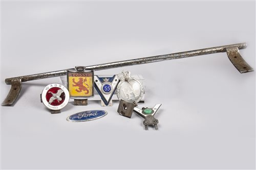Lot 23-COLLECTION OF VEHICLE BADGES